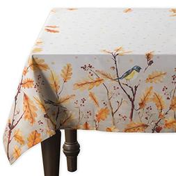 Maison d'Hermine Oak Leaves 100% Cotton Tablecloth 60 Inch b