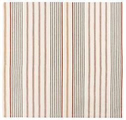 Traders and Company Driftwood Cotton Striped Tablecloth