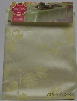 Easter Blossoms & Blooms Yellow Floral Print 60x144 Oblong T