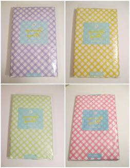 Easter Party Kitchen Plaid Checked Gingham Pastel Tablecloth