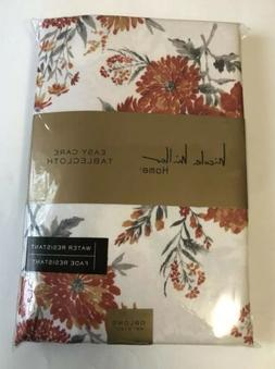 Nicole Miller Easy Care Tablecloth Oblong 60x120 IN Floral P