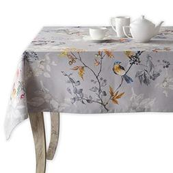 Maison d' Hermine Equinoxe 100% Cotton Grey Tablecloth 54 In