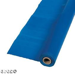 Extra Long Blue Tablecloth Roll Party Decoration