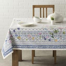 Maison d' Hermine Faïence 100% Cotton Tablecloth 54 - Inch