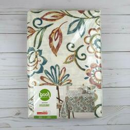 Food Network Fabric Tablecloth Fall Paisley 60x120