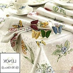 "LENOX~FINE TABLE LINEN~BUTTERFLY MEADOW~60"" X 102"" OBLONG ~T"