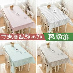 Flannel Back Table Cloth cover tablecloth tablecover waterpr