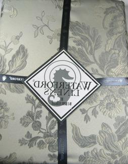 Waterford Floral Tablecloth  Marcia / Silver 100% Polyester