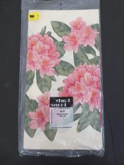 Floral Tablecover Paper Tablecloth Tea Party Spring Summer P