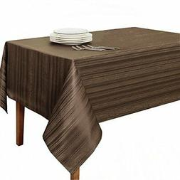 "Benson Mills Flow ""Spillproof"" Fabric Tablecloth, 60X120 Inc"