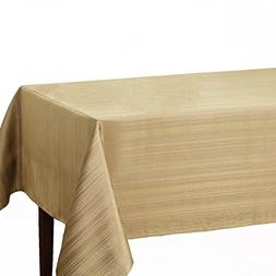 "Benson Mills Flow ""Spillproof"" Fabric Tablecloth, 60X140 Inc"
