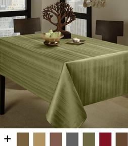 "Benson Mills Flow ""Spillproof"" Fabric Tablecloth, 60X84 Inch"