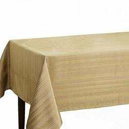 Benson Mills Flow Spillproof Fabric Tablecloth, 60X120 Inch,