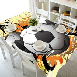 Football Boy 3D Tablecloth Table cover Cloth Rectangle Weddi
