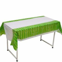 Football Soccer Field Kids Birthday Party Tablecloth Home Ta