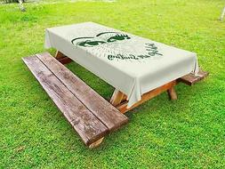 Funny Outdoor Picnic Tablecloth Decor, Fabric Washable Water