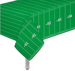 """Pack of 3 Game Day Football Touchdown Tablecover 54""""x78"""" by"""