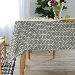 ColorBird Geometric Series Tablecloth Arrow Pattern Cotton L