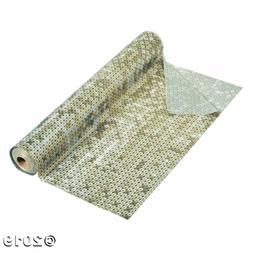 Gold Faux Sequin Tablecloth Roll