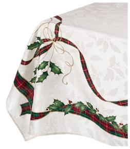 120 Holiday Nouveau Table Cloth
