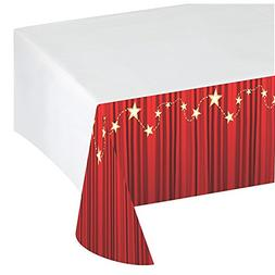 Creative Converting Hollywood Lights Plastic Table Cover wit