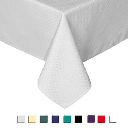 Eforcurtain Home Decor Water Resistant Table Cover Fabric Wa