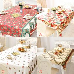 Home Kitchen Dining Table Decorations Christmas Tablecloth R