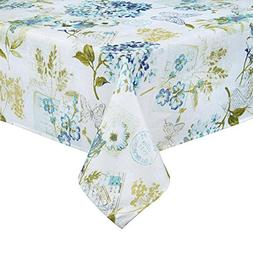Newbridge Hydrangea Flower Garden Print Fabric Tablecloth