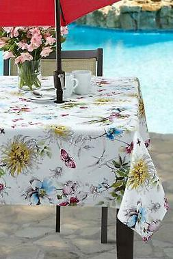 Benson Mills Indoor Outdoor Spillproof Tablecloth for Spring