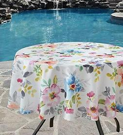 Indoor Outdoor Spillproof Tablecloth for Spring/Summer/Party