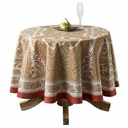 Maison d' Hermine Kashmir Paisley 100% Cotton Tablecloth 69