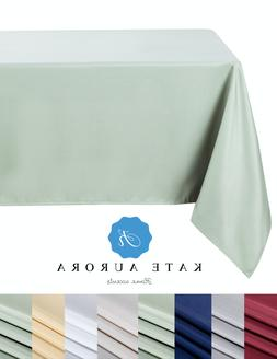 Kate Aurora All Purpose Spill Proof Fabric Tablecloth - Asso