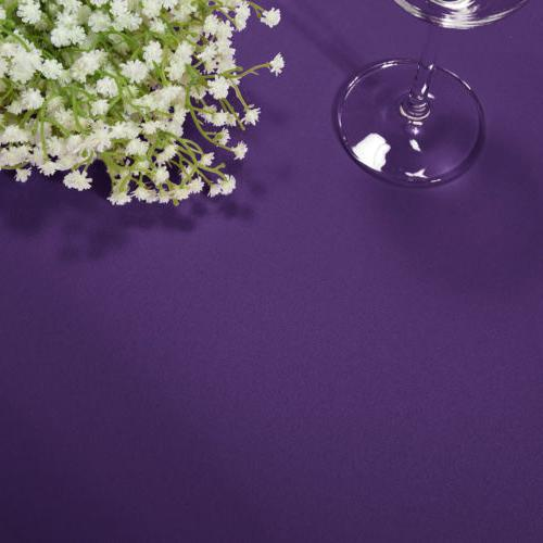 """60x102"""" Rectangle Tablecloth Table Cover Party"""