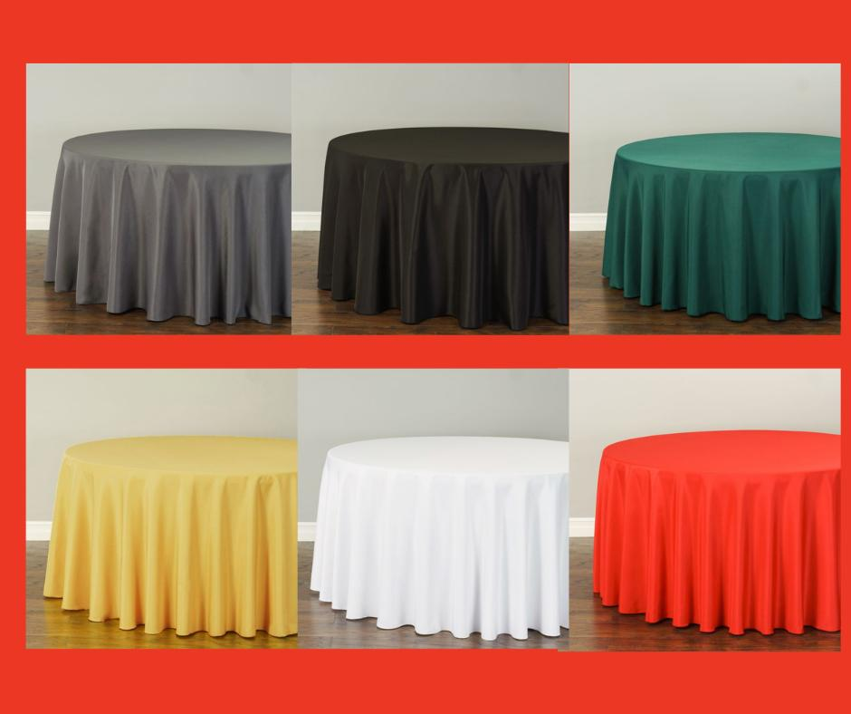 LinenTablecloth 108 Polyester Tablecloths, 32