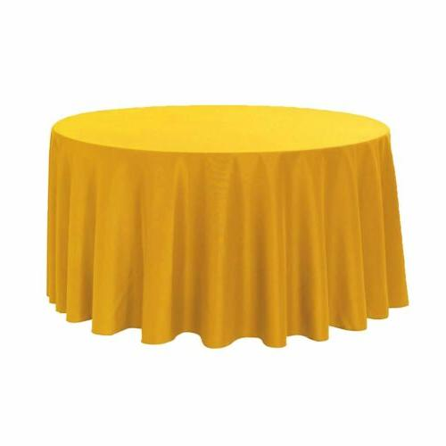 Your Covers 120 Round Polyester Tablecloths