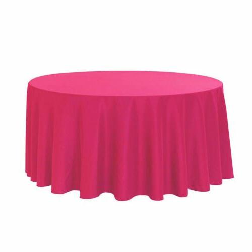 Your 120 Round Tablecloths
