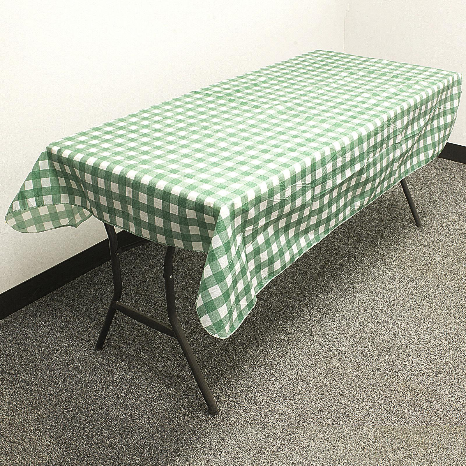3 PACK TABLECLOTH Reusable Parks Party 52""