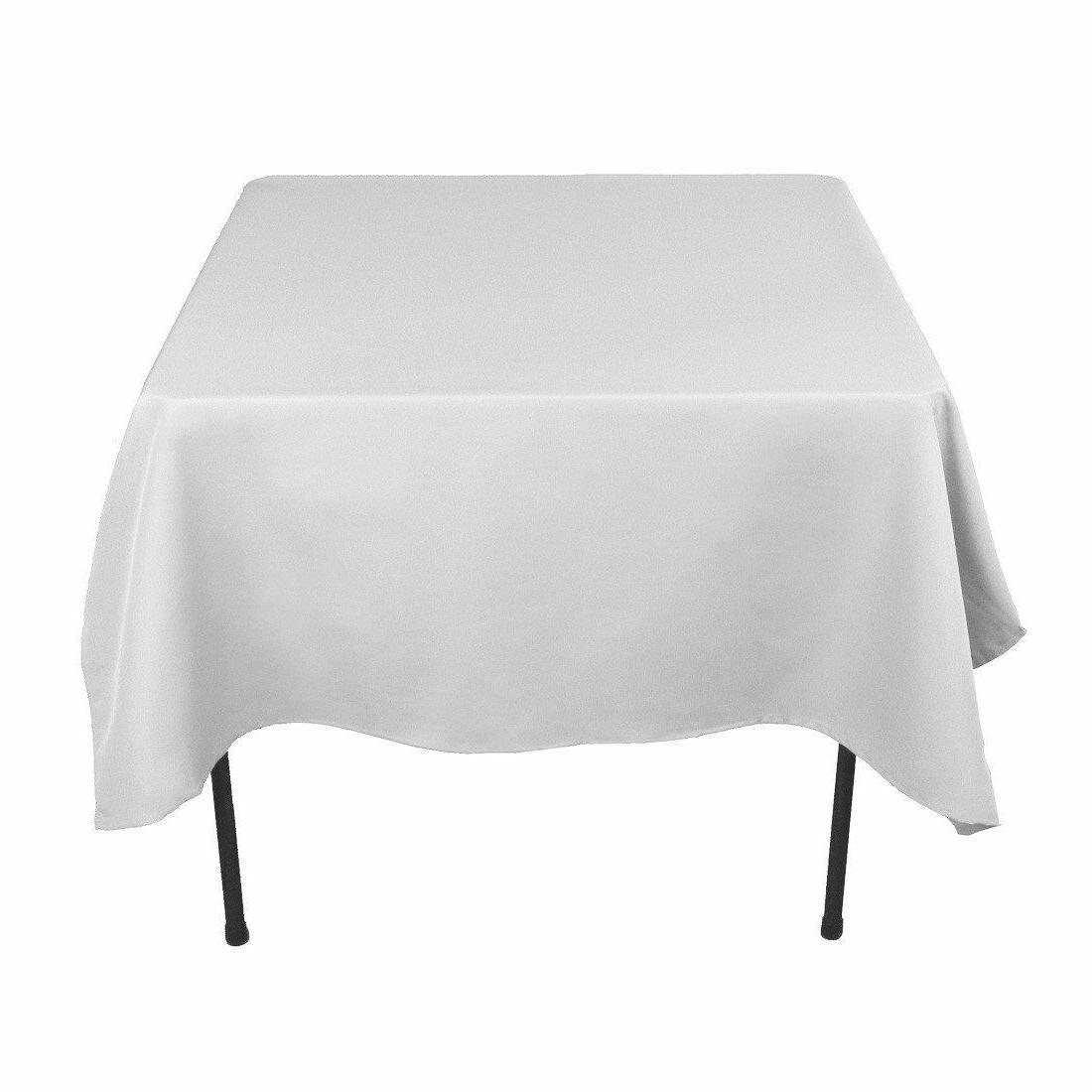 54 x 54 square seamless tablecloth