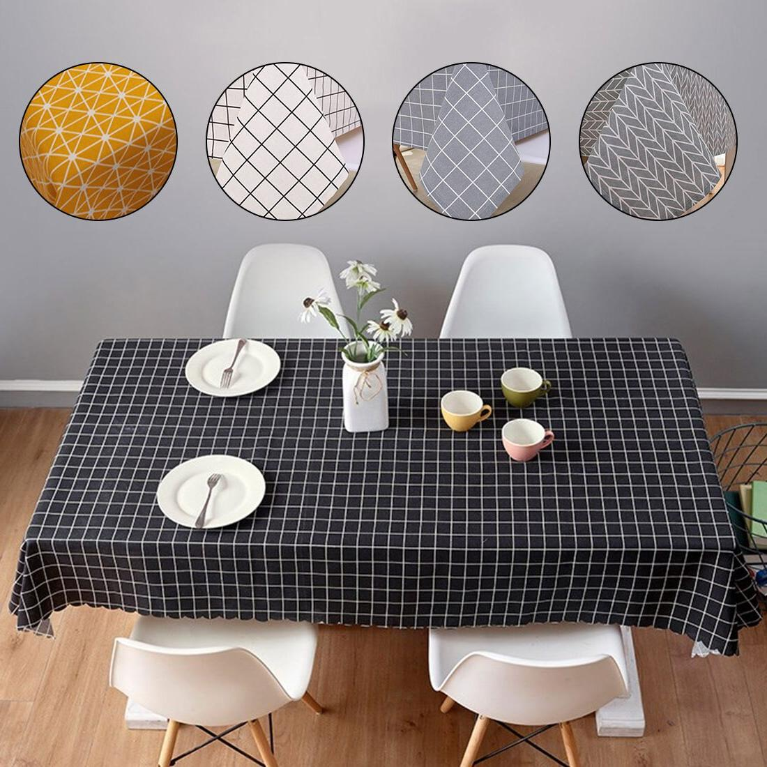 6 Sizes <font><b>Table</b></font> Country Rectangle <font><b>Table</b></font> Tablecloth <font><b>Kitchen</b></font> Decoration