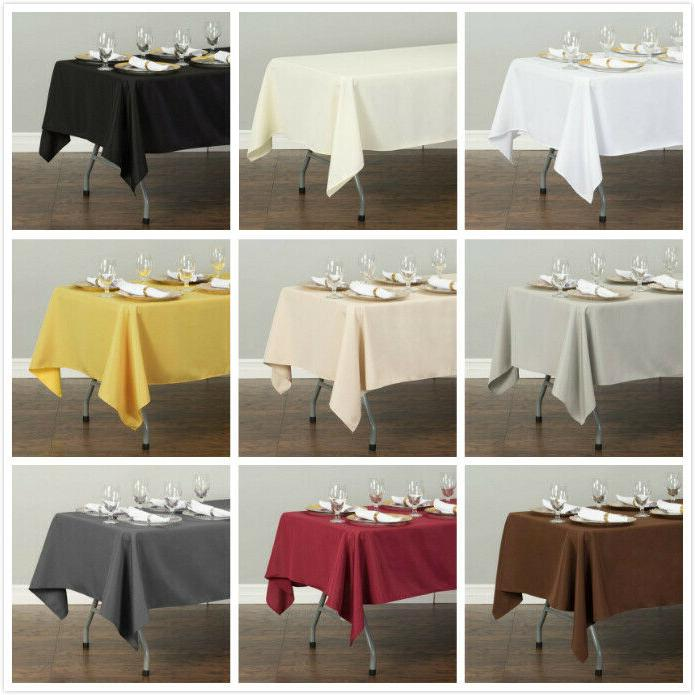 LinenTablecloth in. Rect for