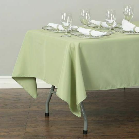 LinenTablecloth x 102 in.Rectangular Polyester Event