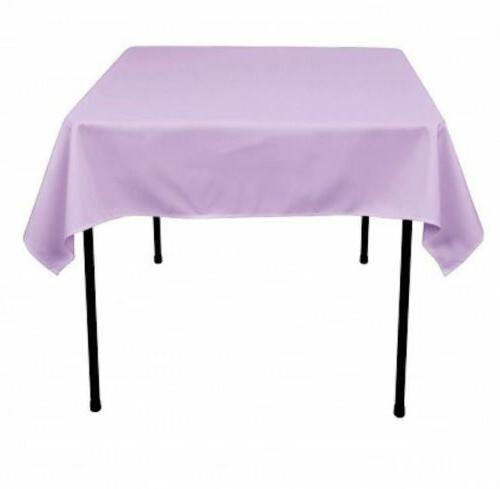 "60""x 60 Overlay Tablecloth Wholesale party"