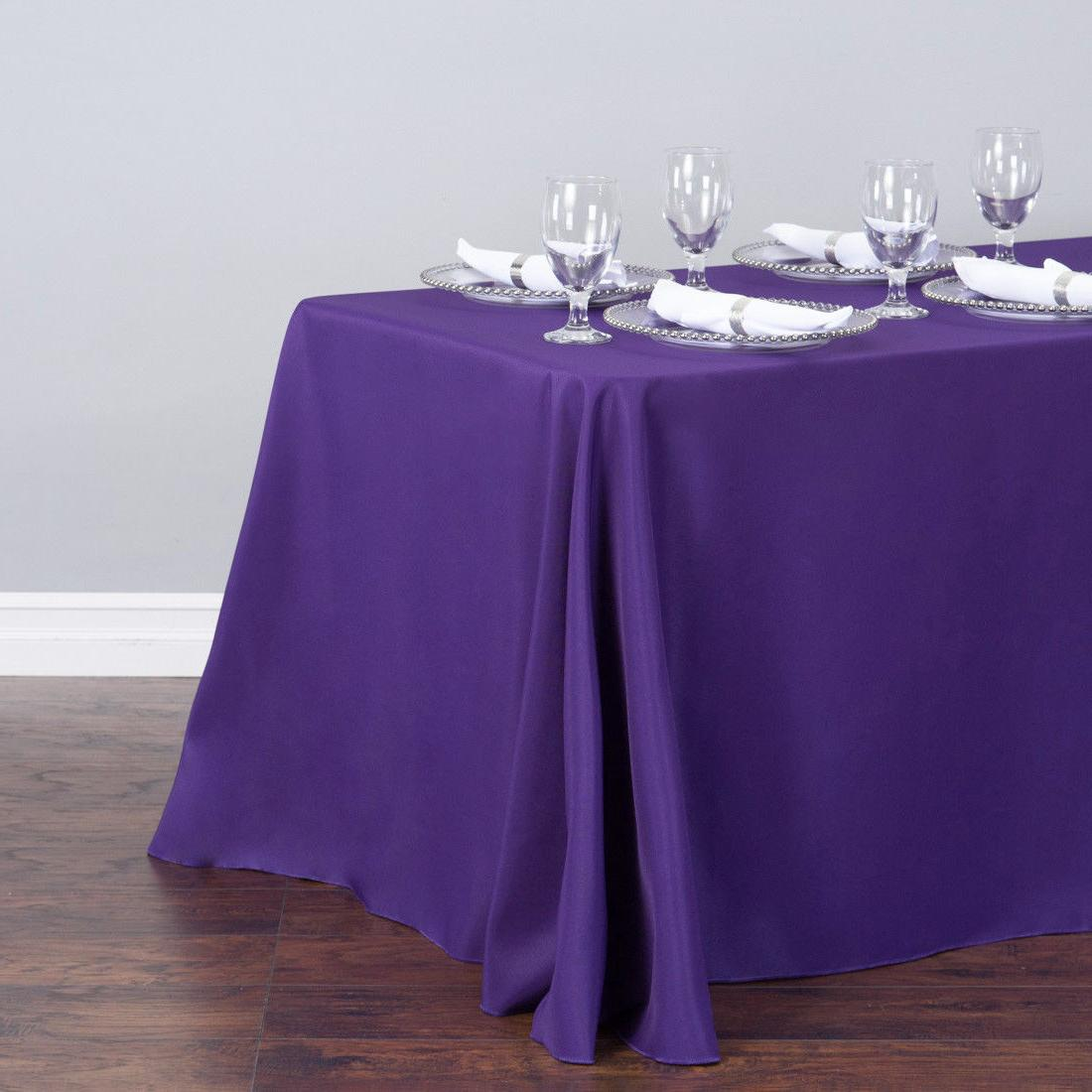 LinenTablecloth in. Color! Wedding Event Party