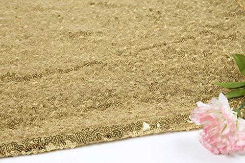BalsaCircle TRLYC Gift Sparkly Sequin Tablecloth for