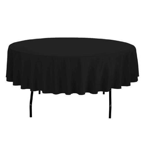 Craft and Party - 10 pcs Round Tablecloth for Home, Party, W