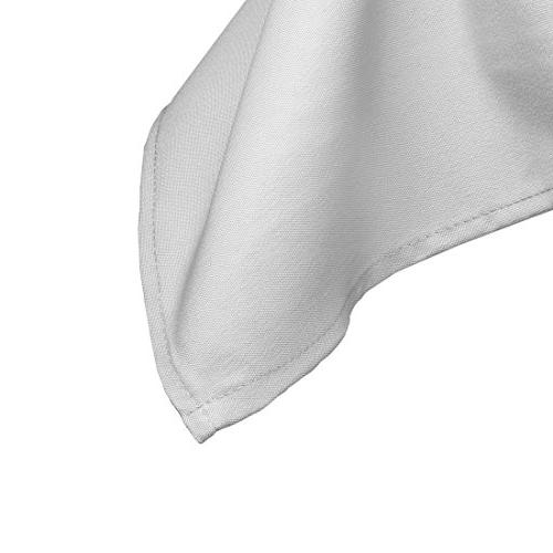 "Gee Rectangle Tablecloth x 132"" Inch Rectangular 6 Foot Washable Polyester - Great for Buffet Holiday Dinner, More"