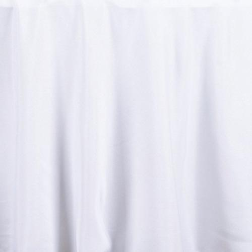 LinenTablecloth 108-Inch Tablecloth White