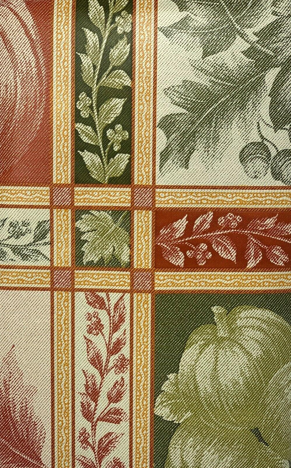 Autumn Vinyl Tablecloth. Round, Square, Oblong. Fall party