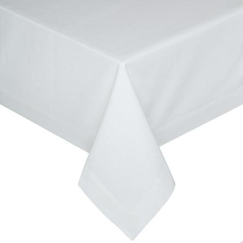 buffet tablecloth white