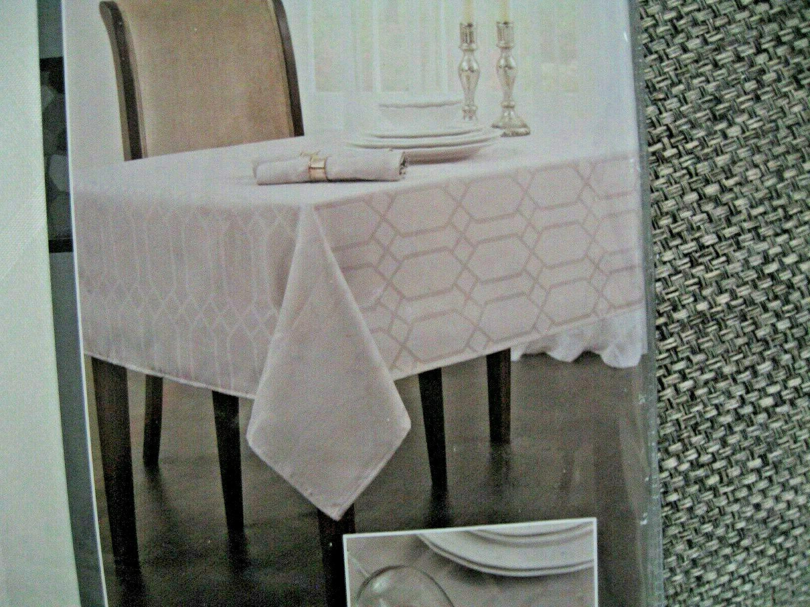 chagall white tablecloth 60 x 104 spillproof